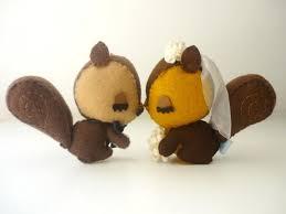 squirrel cake topper squirrels sweet wedding cake topper custom wedding cake