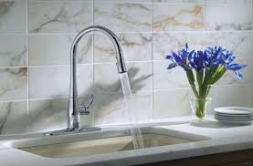 Industrial Looking Kitchen Faucets Kitchen Faucets Design And Ideas Designwalls Com