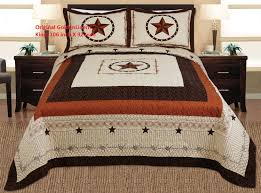 Cowboy Crib Bedding by Amazon Com 3 Piece Western Lone Star Barb Wire Cabin Lodge