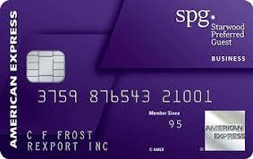 Business Prepaid Debit Card Starwood Preferred Guest Card American Express Open