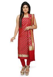 buy red salwar kameez and red color salwar suits online