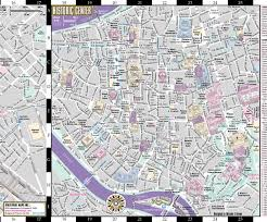 Usa Carry Map by Streetwise Rome Map Laminated City Center Street Map Of Rome