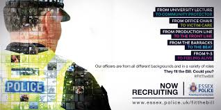 police officer recruitment essex police