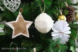 Half Price Christmas Ornaments by Our Rustic Green Christmas Tree