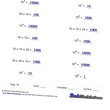 scientific notation worksheets wiring diagram components