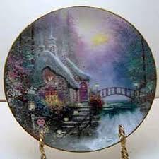 falbrooke cottage collector plate by kinkade