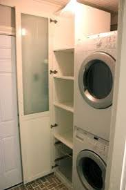 washer dryer cabinet ikea stacked washer dryer with ikea pax laundry room pinterest