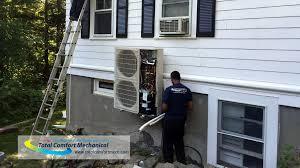 mitsubishi mini split burlington ma mitsubishi ductless air conditioning installations