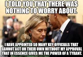 Told You So Meme - obama and hillary imgflip
