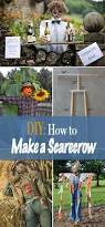 Homemade Scarecrow Decoration Best 25 Make A Scarecrow Ideas On Pinterest Diy Scarecrow