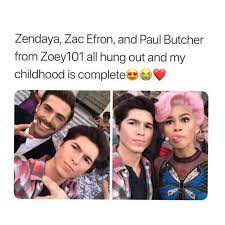 Zac Efron Meme - dopl3r com memes zendaya zac efron and paul butcher from