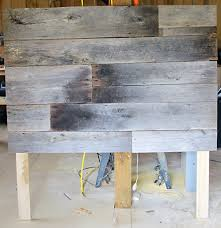 Wood Headboard Diy Alluring Barn Wood Headboard Best Ideas About Barn Wood Headboard