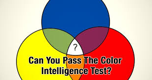 color of intelligence quiz can you pass the color intelligence test
