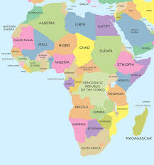africa map map africa