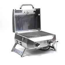 Barbeque Grills Superspace 20 000 Btu 2 Burner Stainless Steel Bbq Tabletop
