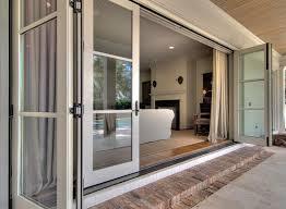 Patio Doors Exterior Sliding Patio Doors 3 Panel Door Exterior Glass Lowes 16