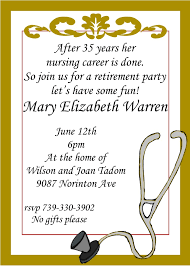 how to write an invitation to a party retirement party invitations stephenanuno com