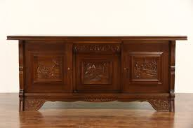 furniture vintage sideboards and buffets antique credenza