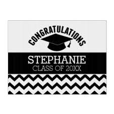 graduation sign graduation yard lawn signs zazzle
