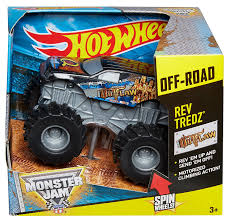 monster jam monster trucks toys amazon com wheels monster jam rev tredz iron outlaw truck