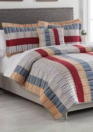 Belk Duvet Covers Home Accents Jackson Striped Cotton Quilt Set Belk