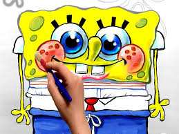 spongebob coloring book cartoon movie free coloring pages