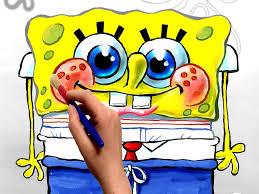 spongebob coloring book cartoon movie free coloring pages