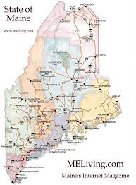 map of maine with cities map of maine cities maine map with 550 x 747 map of usa states