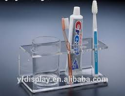 sell acrylic bathroom accessories toothbrush holder buy