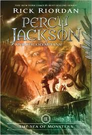 the sea of monsters percy jackson and the olympians book 2