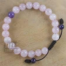 rose quartz bead bracelet images Rose quartz bracelet mala beads tibetan buddhist beads jpg