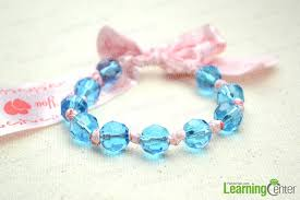 diy bracelet with beads images How to make a bracelet with ribbon and beads jpg