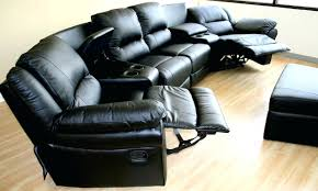 Curved Sectional Sofa by Recliners Amazing Curved Sectional Recliner Sofa For Living Room