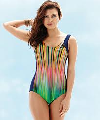 shiny swimsuit palm shiny lines swimsuit monaco