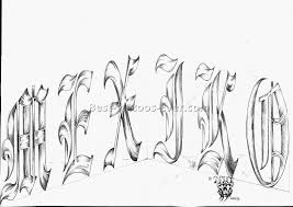 tattoo letter designs 3 best tattoos ever