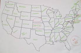 A Map Of The Us When A German Tries To Fill Out A Map Of The Usa U2013 Welcome To