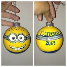 learn how to make a minion ornament at the bird boutique
