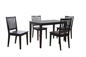 Dining Chairs At Target Amazon Com Target Marketing Systems 5 Piece Shaker Dining Set
