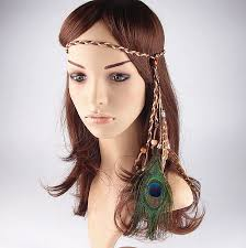 bohemian hair accessories aliexpress buy fashion bohemian vintage peacock feather