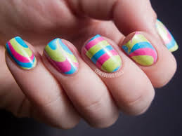 top 70 mesmerizing water marble nails