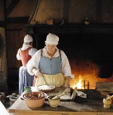 17th century cuisine traditions in 17th century and virginia