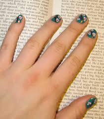 spring design furry fury nail art