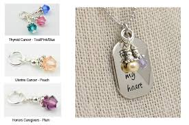 Custom Heart Necklace Custom Forever In My Heart Necklace Choose Hope