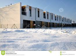 Modern Row House by Just Built Modern Family Row House Stock Photo Image 43519968
