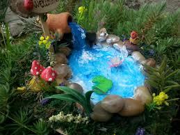 River Rock Garden by Fairies Garden Pond Garden Accessories River Rock Terrariums
