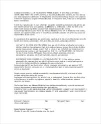 doc 575709 release of liability form template u2013 release of