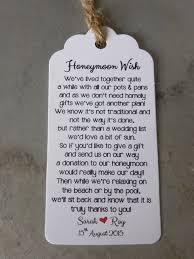 honeymoon shower gift ideas honeymoon poems