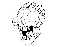 coloring bad zombie color coloringcrew 540184
