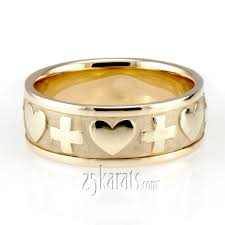 christian wedding bands religious wedding bands from 25karats christian