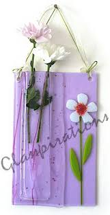 Hanging Glass Wall Vase 230 Best Fused Glass Vases Images On Pinterest Fused Glass